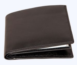 Pe Mens Sheep Black Leather Wallet