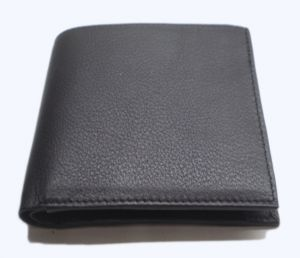 Pe Mens New Style Black Leather Wallet
