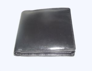 Pe Mens Pure Quality New Tata Black Leather Wallet