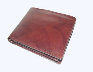 Pe Mens Pure Quality New Tata Brown Leather Wallet