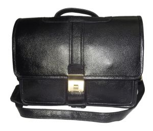 Office Bags - PE 12.5 inch 100% Genuine Leather Laptop Messenger Bag