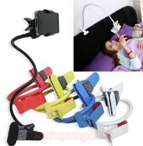 Fliptech Universal Flexible Long Lazy Mobile Phone Holder Metal Stand For Bed Desk, Tables Etc