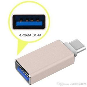 Akcess Type C USB 3.1 To USB 2.0 Otg Adapter For Leeco Letv Le 1s (golden)