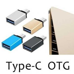 Akcess Type C USB 3.1 To USB 2.0 Otg Adapter For Leeco Letv Le 1s (silver)
