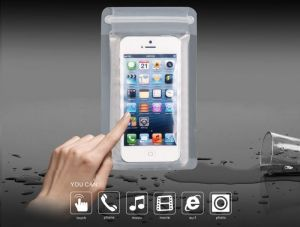 Carry cases and pouches for mobile - Fliptech Waterproof Raincoat Mobile Cover For Mobile Phones (with Manufacturer Warranty)