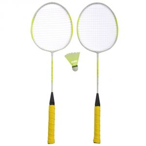 Badminton - GAS SWIFT BADMINTION RACKET (PACK OF 2) COVER SHUTTLECOCK
