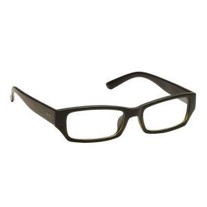 Blue-tuff Mens Rectangular Sunglass Eyewear Eye Frame-3145-c6-greenblack