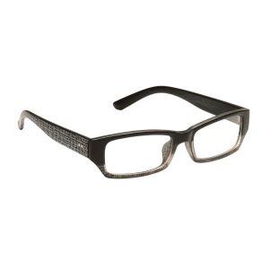 Blue-tuff Mens Rectangular Sunglass Eyewear Eye Frame-3145-c8-tptblack
