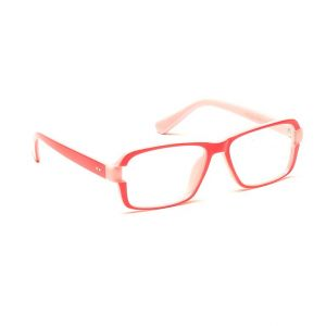 Blue-tuff Rectangular Sunglass Eyewear Girls Frame-5151-c2-pink