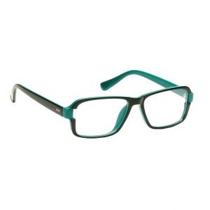Blue-tuff Mens Rectangular Sunglass Eyewear Eye Frame-5151-c7-green