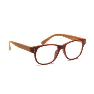 Blue-Tuff Oval Sunglass Eyewear Girls Frame-5176-c10-brownmaroon