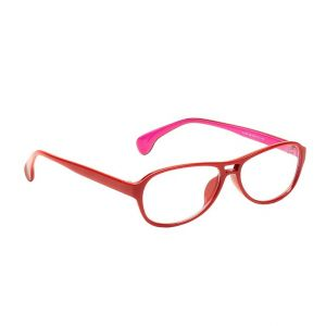 Blue-tuff Oval Sunglass Eyewear Girls Frame-5180-c8-red