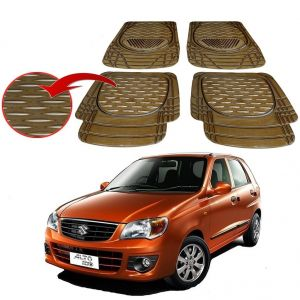 MP Premium Smoke Car Floor/foot Mats Set Of 4 - Maruti Alto K10