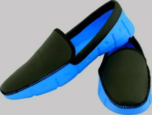 Blue Tuff Mens Classic Cup Loafer - Blue