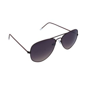 Blue-tuff Aviator Sunglasses Brown Frame With Brown Mirror