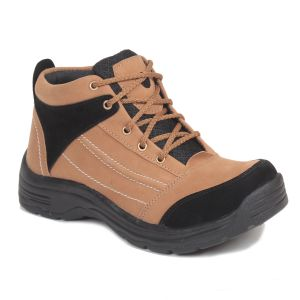 Blue-tuff Half Ankle Boot For Men/boys Bt-350 Tan