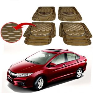MP Premium Smoke Car Floor/foot Mats Set Of 4 - Honda City Itdec