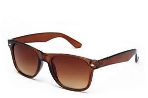 Blue-tuff Amazing Stylish Sunglass Brown Wayfarer