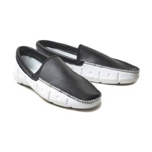 Blue Tuff Mens/boys Casual Loafers White