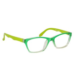 Blue-tuff Kids Rectangular Sunglass Eyewear - Green