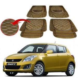 MP Premium Smoke Car Floor/foot Mats Set Of 4 - Maruti New Swift