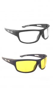Sunglasses, Spectacles (Mens') - BLUE-TUFF NIGHT DRIVING NIGHT VISION SUNGLASS BUY 1 GET 1 FREE