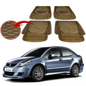 MP Premium Smoke Car Floor/foot Mats Set Of 4 - Maruti Sx4