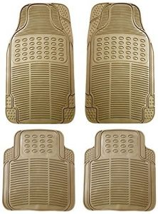 MP Car Floor Mats (beige) Set Of 4 For Honda Brio