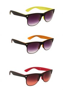 Blue Tuff Stylish Wayfarer Black/red Trendy Goggles With Color Option