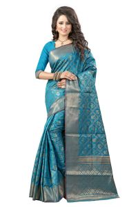 See More Self Design Rama Color Banarasi Patola Saree Banarasi Patola 2 Rama