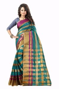 See More Self Designer Rama Green And Golden Color Tassar Silk Saree With Blouse Piece Manipuri 555 Rama( Product Code - Manipuri 555 Rama)