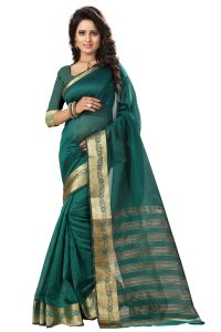 See More Self Design Rama Color Art Silk Saree Mohini 2 Rama
