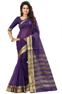 See More Self Design Royal Blue Color Art Silk Saree Mohini 2 Royal Blue