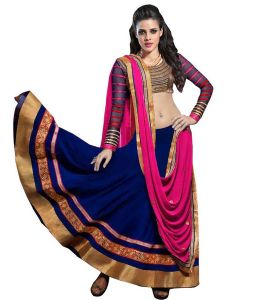My Pac,See More Women's Clothing - See More Womens Georgette Lehenga Choli
