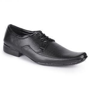 Black Formal Shoes With Lace