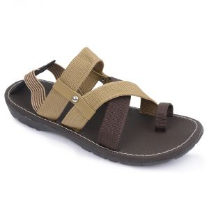 Sandals (Men's) - Semana Brown Sandals