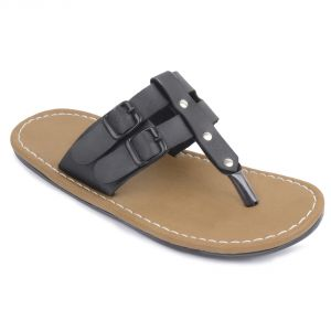 Semana Black Slip On For Mens- S052