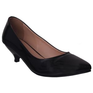 Soie,Flora,Oviya,Asmi,Pick Pocket Women's Clothing - Flora Comfort Pointed Black Bellerina (Code - PF-5006-01)
