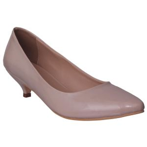 Kiara,Flora Women's Clothing - Flora Comfort Pointed Cream Bellerinas (Code - PF-5006-03)