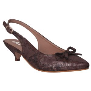 Flora Comfort Pointed Brown Sandals (code - Pf-5008-06)