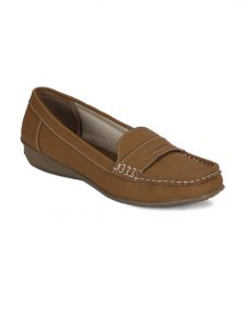 Jagdamba,Mahi,Flora,Sangini,Pick Pocket,Bagforever Footwear - Torrini Beige Closed Loafer Womens Shoe - Y-113-04