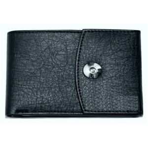White Bear Men Brown Artificial Leather Album Wallet For Cards