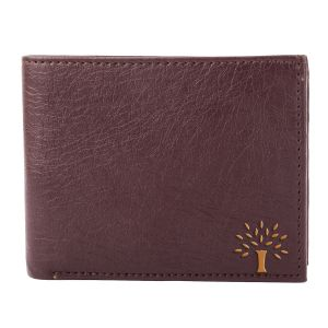 White Bear Artificial Leather Brown Stylish Mens Wallet