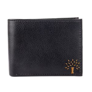 White Bear Stylish Men Black Artificial Leather Wallet