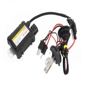 Capeshoppers 6000k Hid Xenon Kit For Mahindra Kine 80cc Scooty