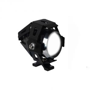 Capeshoppers U5 Projector LED White For Hero Motocorp Hunk Single Disc