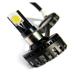 Capeshoppers M3 High Power LED For Bike Headlight For Mahindra Rodeo Uzo 125 Scooty