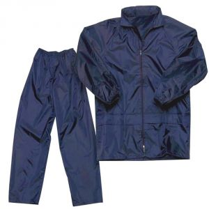 Capeshoppers Bike/scooter 100% Water Proof Rain Suit With Hood - Blue