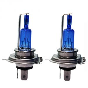 Capeshoppers - Xenon Cyt White Headlight Bulbs For Mahindra Rodeo Uzo 125 Scooty Set Of 2