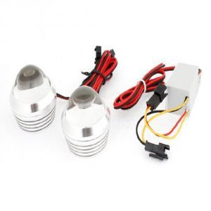 Capeshoppers Flashing Strobe Light For Mahindra Kine 80cc Scooty